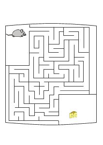 Labyrinth, Irrgarten Maus sucht Käse                                                                                                                                                     Mehr