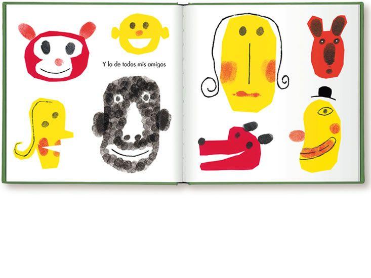Con los dedos de una mano : Isidro Ferrer  32 páginas. Color. 210 x 210 Zaragoza, Ediciones Imaginarium, 2001-2002