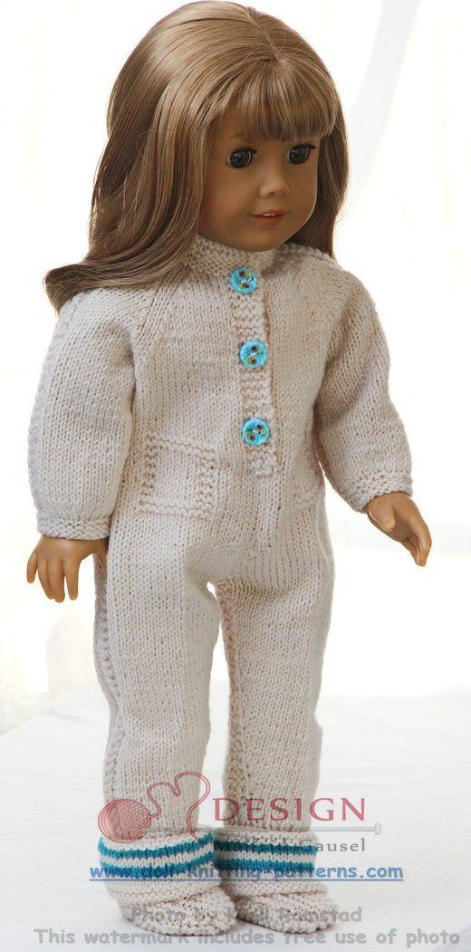dukkeklær strikkeoppskrifter