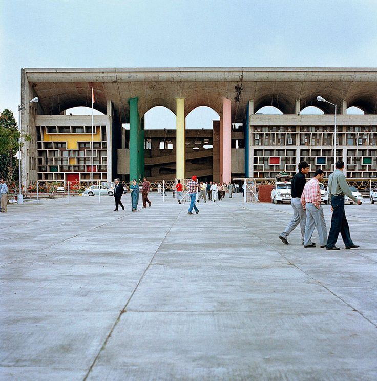 Palace of Justice. Chandigarh, India. 1952. Corbusier