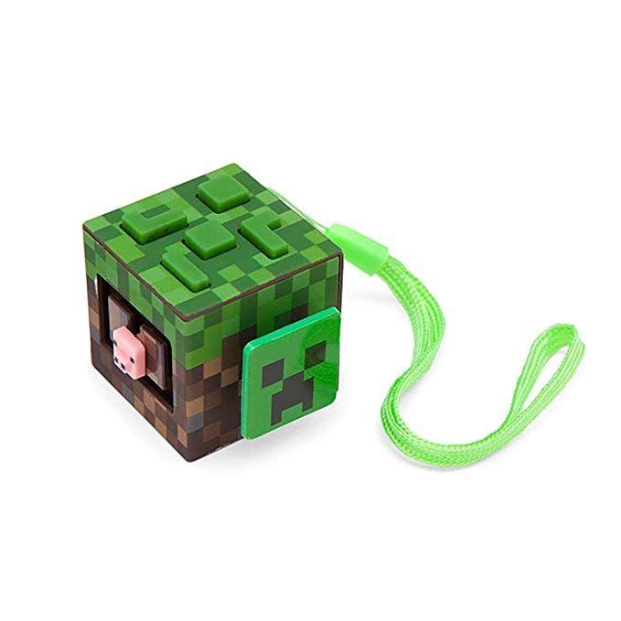 Minecraft Grass Activity Block Fidget Cube Minecraft