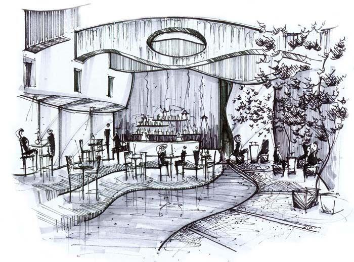 Interior Design Sketch Home Sweet