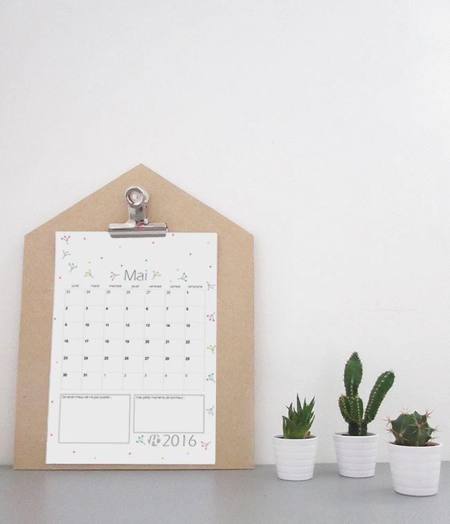 17 meilleures id es propos de calendrier mai 2016 sur pinterest create a newsletter - Calendrier lunaire mai 2017 ...