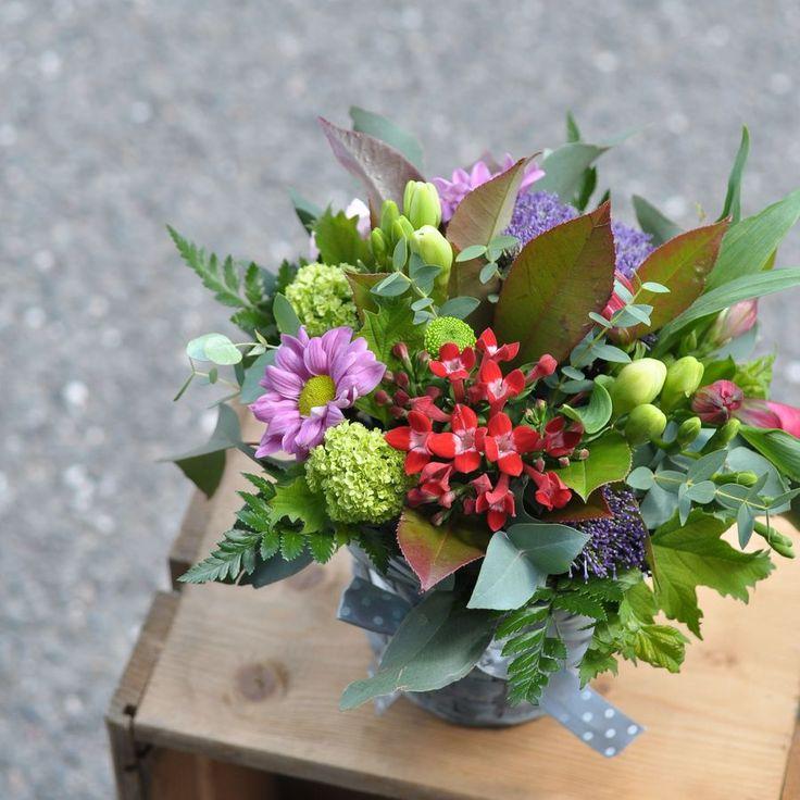 Květinový Ateliér 26 - květinový košík ... https://www.facebook.com/kvetinovyatelier26/