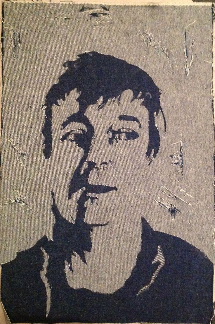 Portrait sur jean