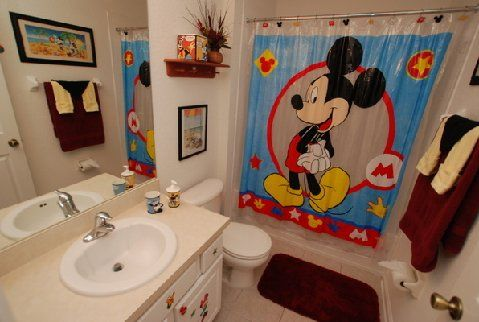 Mickey Mouse Bedroom Google Search Bathroom