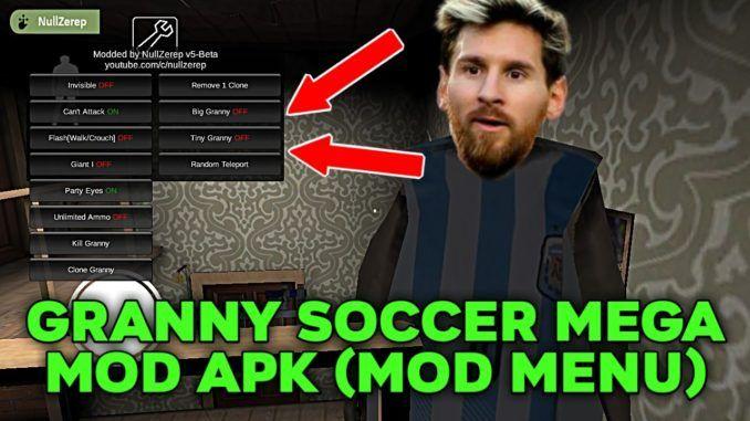Granny Soccer MEGA MOD APK (Mod Menu) | MOD Games in 2019