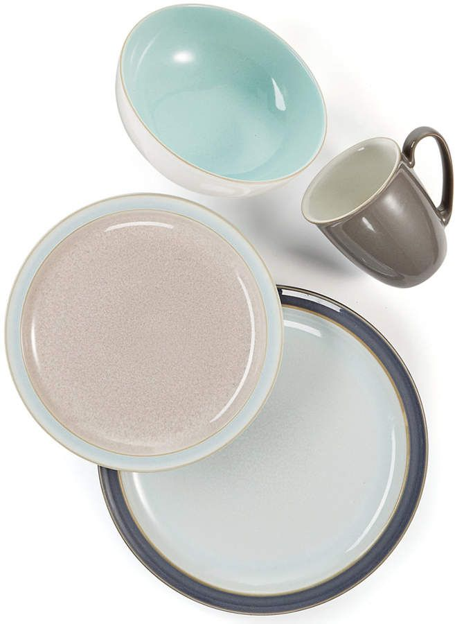 Love these pastel and neutral dinnerware sets
