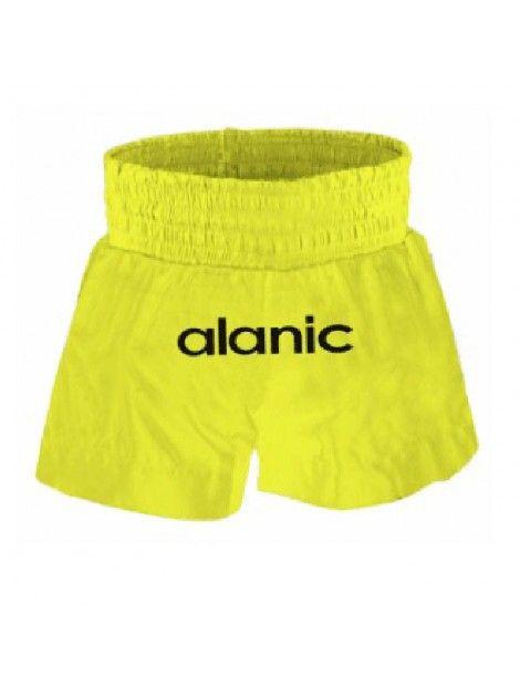 yellow boxing shorts