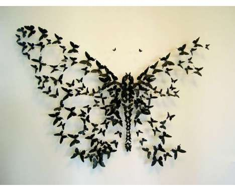 Trash Into Art Amazing Beer Can Butterflies