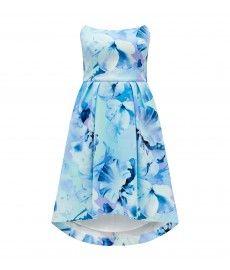 Belinda Structured Bandeau Prom Dress