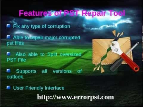 Error PST : Fix all corruption in PST