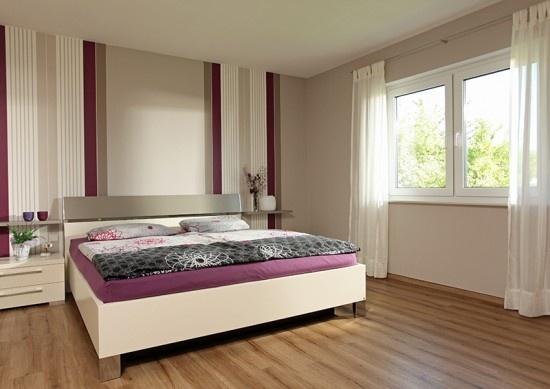 Fertighaus Wohnidee Schlafzimmer