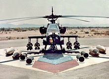 Weapon loadout of the AH-64 Apache