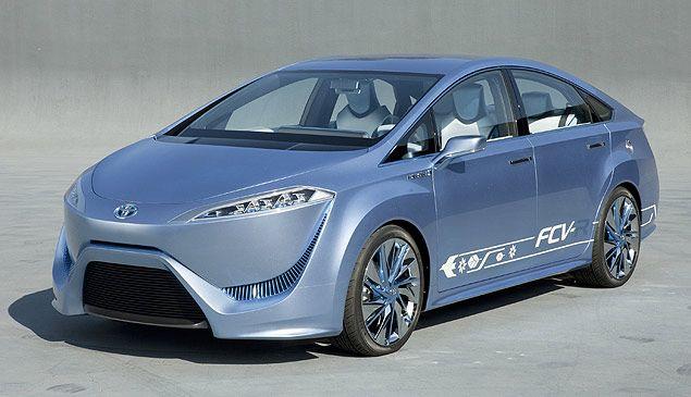 Toyota anuncia produção de carro movido a hidrogênio