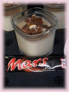 J'avais repéré cette recette sur le blog de ma copinaute Aneth, l'homme de la maison est fan de Mars (les barres chocolatée, pas la planète) et il m'est donc venu naturellement l'idée de réaliser la recette. J'ai réalisé la recette dans la multi délice...