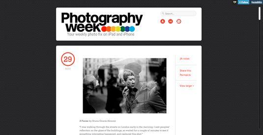 Best photography websites: Photography week