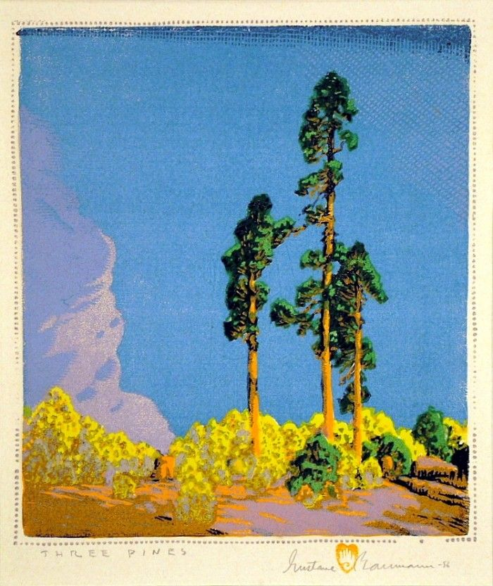 Three Pines | Harris Schrank Fine Prints