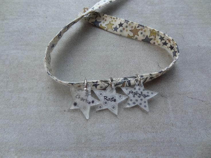 bracelet liberty cf étoiles :)