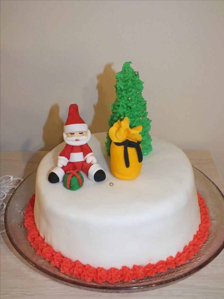 Świąteczny tort/ Christmas cake