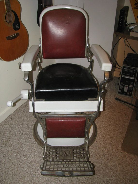 Vintage Koken Barber Chair Circa 1930s by CANDLEBERRYMARKET, $950.00 - 76 Best Barber Chairs Images On Pinterest Barbers, Bow And