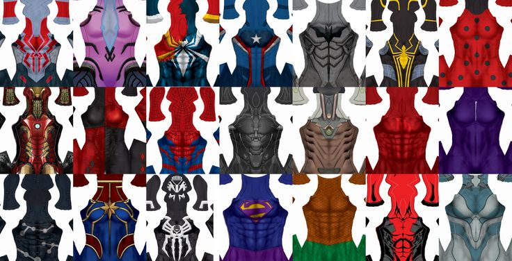 Welcome to Gun Head Design! The best superhero costume pattern file designs on the web! Gun Head Design orhadar superhero costume pattern files