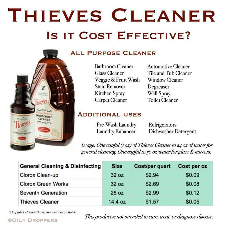 Thieves Cleaner Is It Really All That Cost Effective