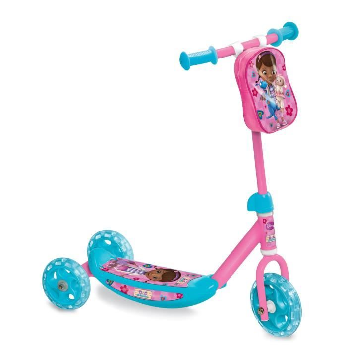 docteur la peluche trottinette 3 roues my first scooter - Achat / Vente patinette D; LA PELUCHE First Scooter - Soldes* d'été Cdiscount