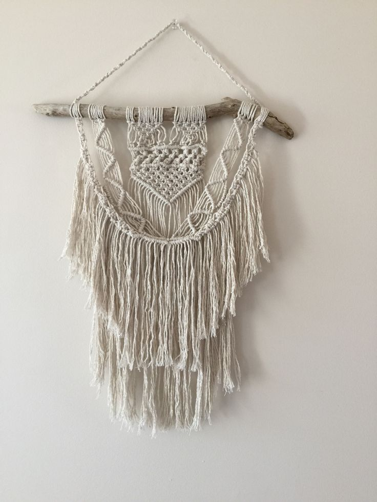 Macrame Wall Hanging, 70s Style Crafts , summer beach Weddings, made in NZ