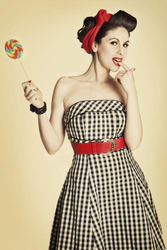 vestimenta años 50 pin up - Buscar con Google