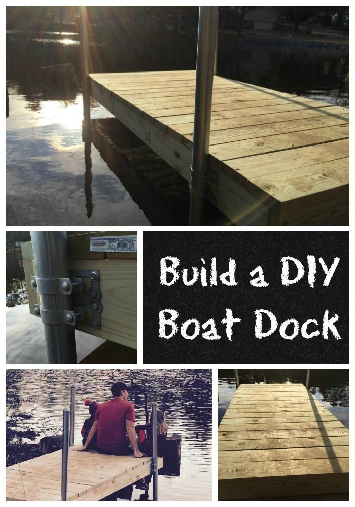 Directions for Building a DIY Boat Dock - Have you always wanted to build your own boat dock? Check out our instructions and make it happen.