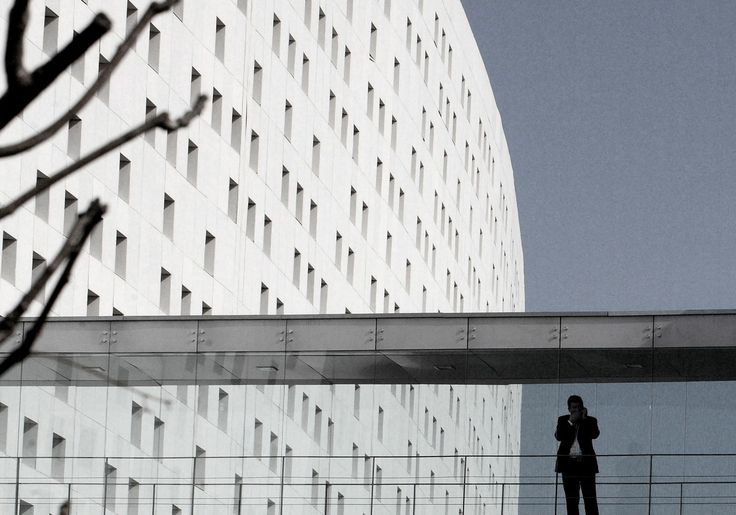 EQUITONE facade panels. Office building in Casablanca by Groupe 3 arch.