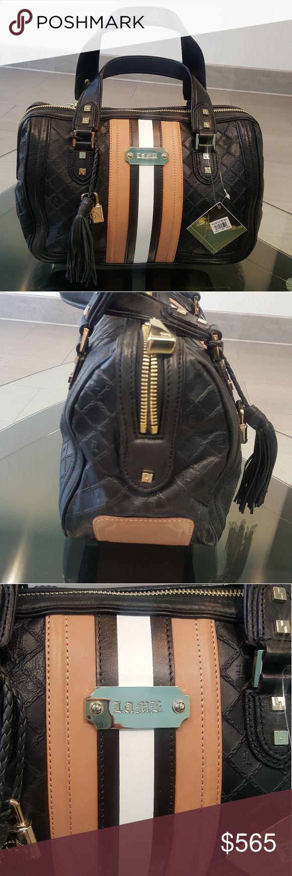 "LAMB purse Stylish leather LAMB bag 14x6x10"" brand new LAMB Bags Satchels"