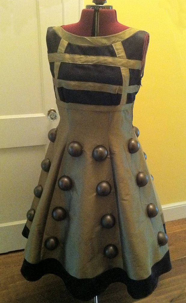 how to build a dalek costume