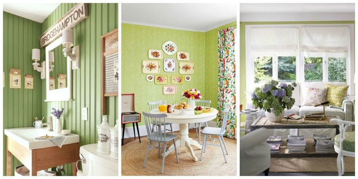 44 Rooms That Prove Green is the Prettiest Color  - CountryLiving.com