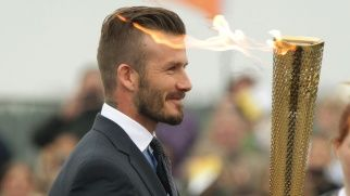 David Beckham veste la maglia di Las Vegas Sands