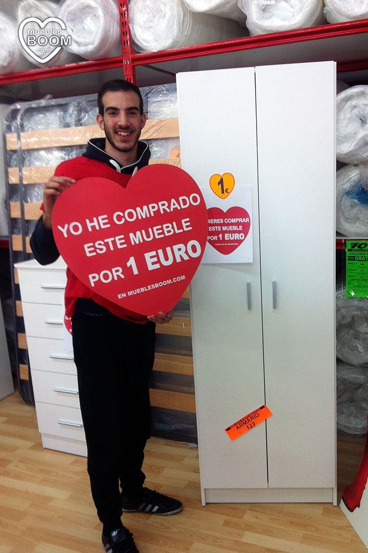 Gran promoción de Muebles a 1 Euro de Muebles BOOM en Madrid (Centro Comercial Parque Corredor en Torrejón de Ardoz)