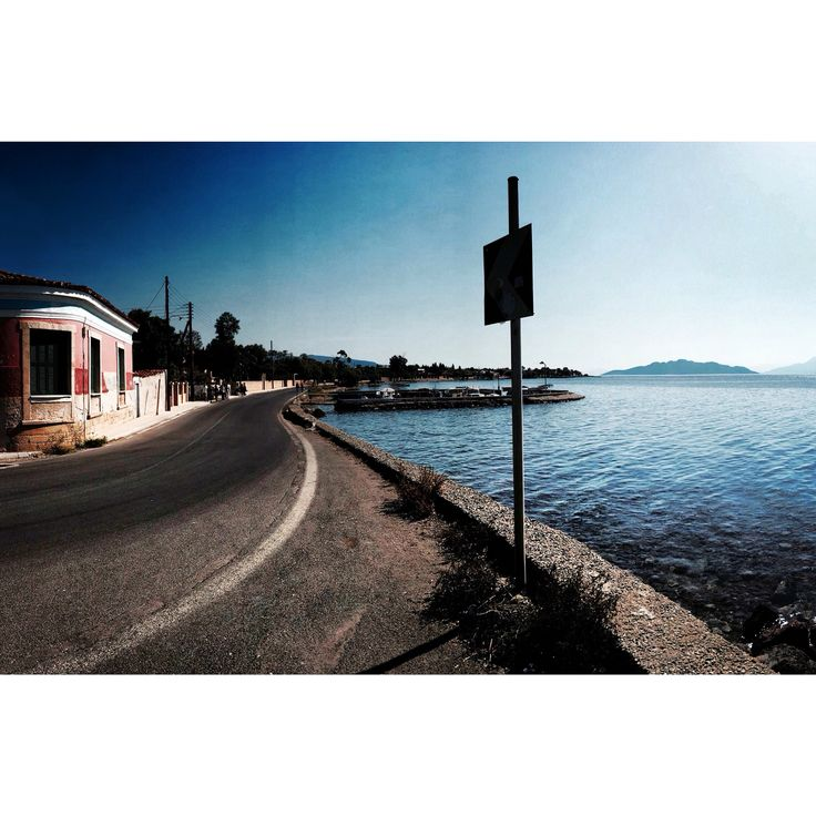 Aegina island in Greece. Ocean
