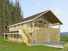 Garage Apartment Plan, 012G-0086