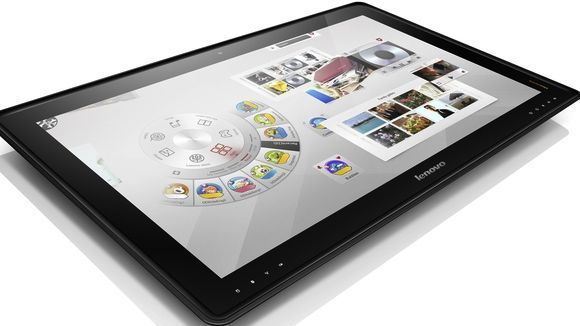 Lenovo ups the ante with 27-inch Windows 8 table PC | Lenovo took the 'go big or go home' concept literally with the unveiling of a the IdeaCentre Horizon table PC at CES 2013. Buying advice from the leading technology site