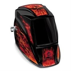 Miller 238496 Welding Helmet, MP-10 Inferno Shade 10 Non-Auto Darkening