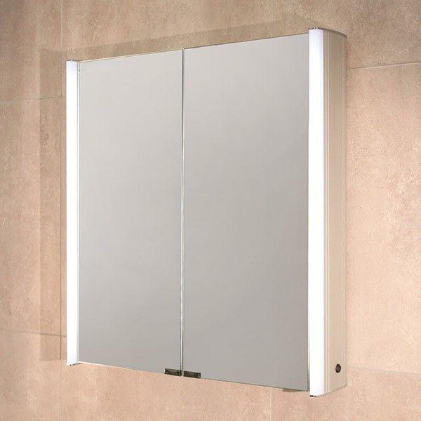 Ora Double Door Illuminated Mirror Cabinet Product Code 10010