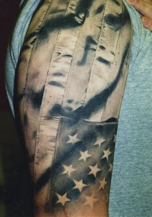 60 best tattoos militaryemerg responders images on pinterest flag tattoo tattoos that is an amazing tattoo american publicscrutiny Image collections