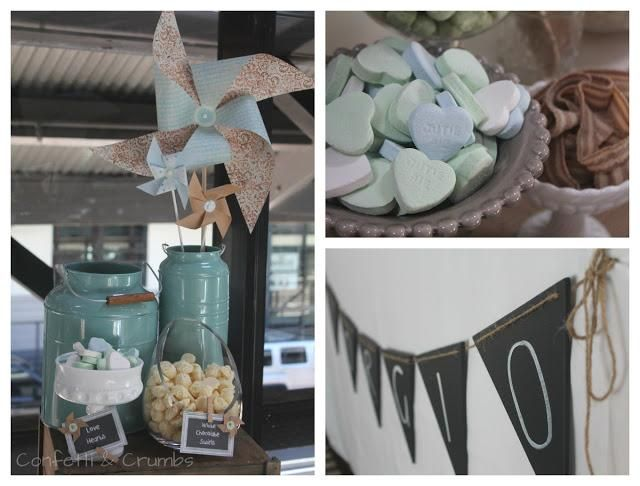 Pinwheel Themed Christening by Confetti and Crumbs.