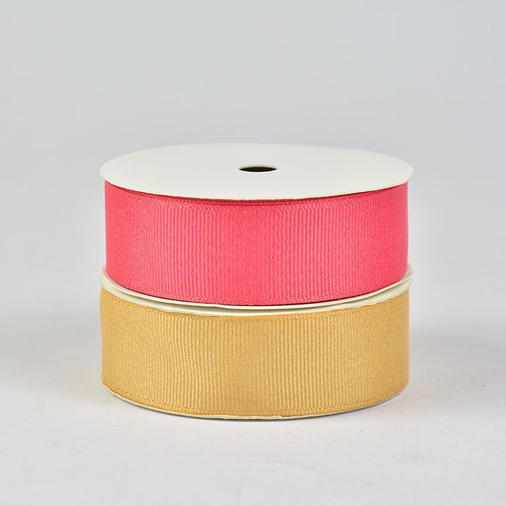 Wholesale Ribbed Golden Weft Ribbon Garment Accessories Factory Wholesale
