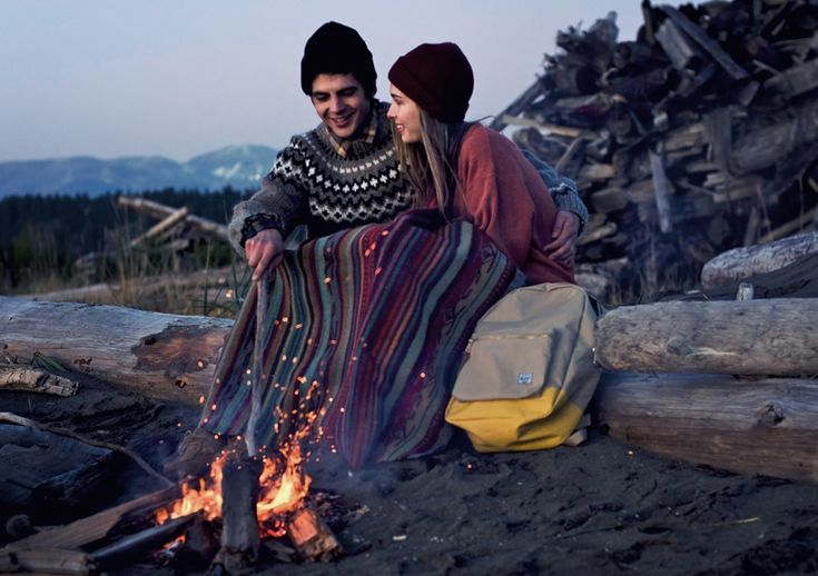 Camping with the one you love.