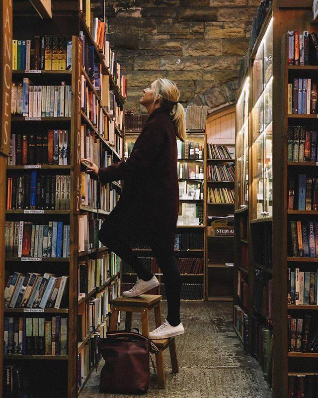 Barter Books Alnwick Book Aesthetic Winter Breaks Books