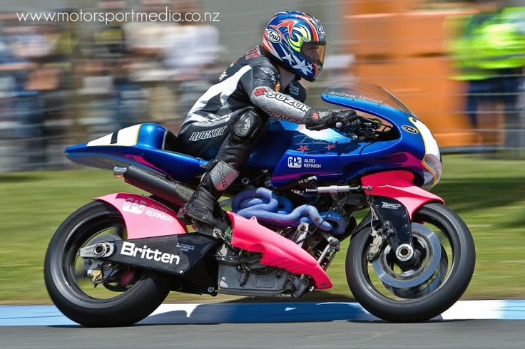 Andrew Stroud on the Britten V1000