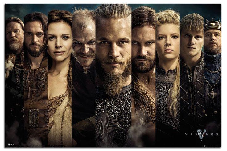 Vikings Season one Earl Ragnar, and the cast.