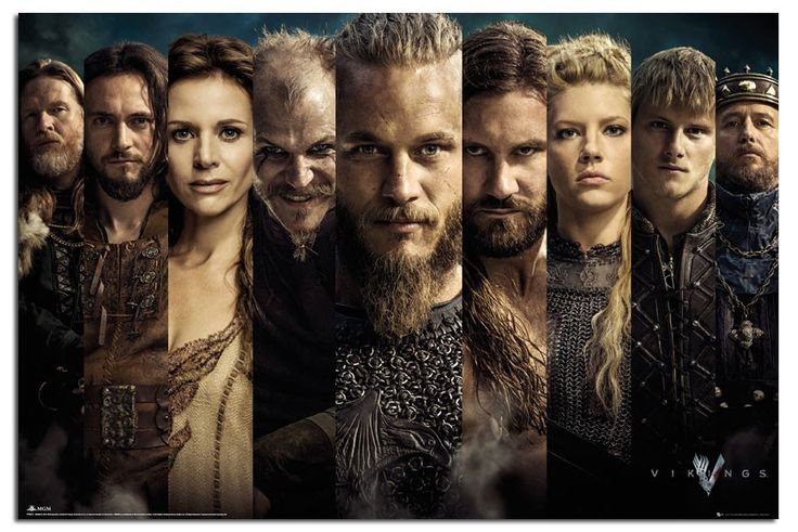 Vikings Season one Earl Ragnar, and the cast.